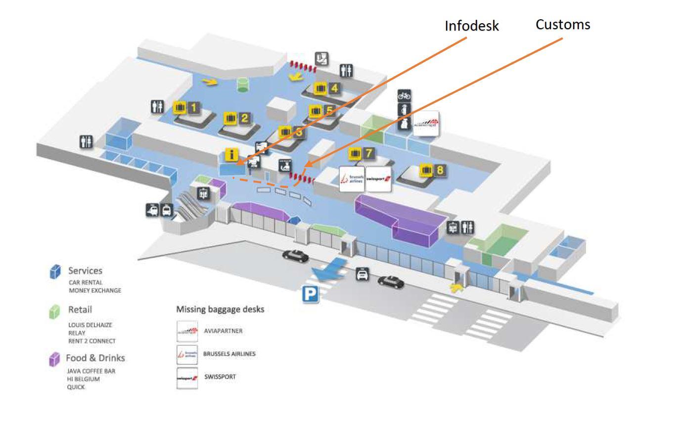 Taxi Bruxelles aéroport Zaventem
