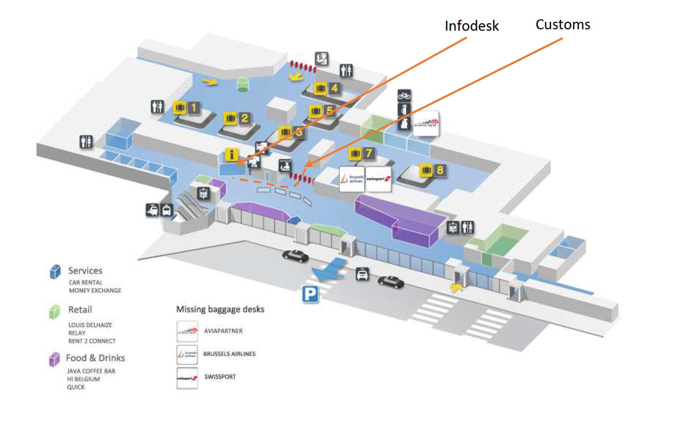 Unitax Taxi Bruxelles aéroport Zaventem