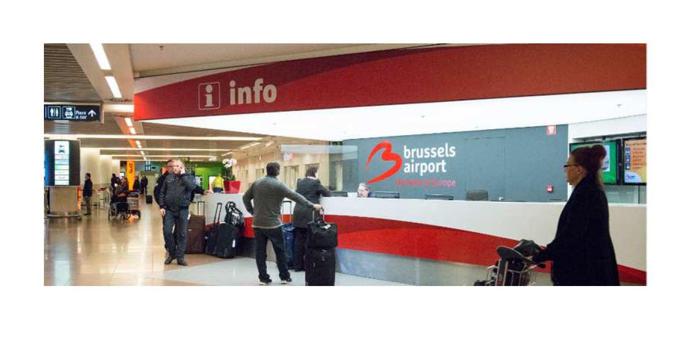 Accueil personnalisé par votre chauffeur à l'aéroport de Zaventem